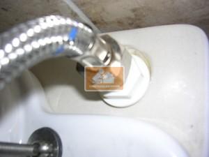 теч от тоалетната